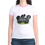 Gray Silkies Jr. Ringer T-Shirt