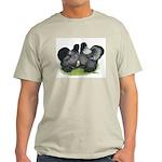 Gray Silkies Light T-Shirt