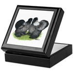 Gray Silkies Keepsake Box