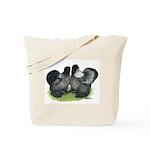 Gray Silkies Tote Bag