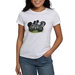 Gray Silkies Women's T-Shirt