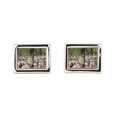 Cementario Rectangular Cufflinks