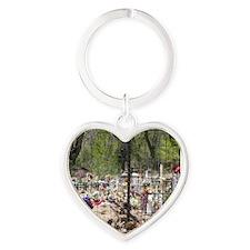 Cementario Heart Keychain