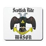Masonic Scottish Rite Mousepad