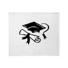 Cute Graduation Throw Blanket