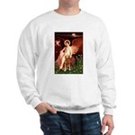 Angel & Golden Retrieve Sweatshirt