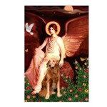 Angel & Golden Retrieve Postcards (Package of 8)