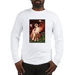 Angel & Golden Retrieve Long Sleeve T-Shirt