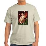 Angel & Golden Retrieve Light T-Shirt