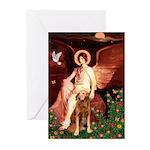 Angel & Golden Retrieve Greeting Cards (Pk of 10)