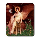 Angel & Golden Retrieve Mousepad