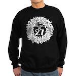 Class Of 2027 floral Sweatshirt