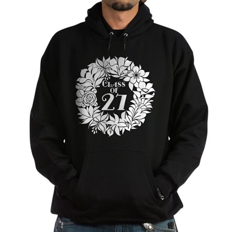 Class Of 2027 floral Hoodie