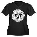 Class Of 2027 floral Plus Size T-Shirt