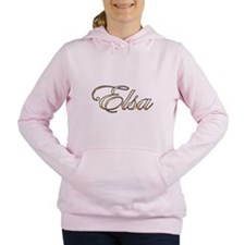 Gold Elsa Women's Hooded Sweatshirt