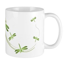 Dragonflies in Flight Mug