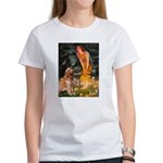 Fairies & Golden Women's T-Shirt