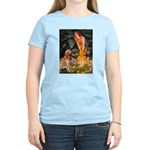 Fairies & Golden Women's Light T-Shirt