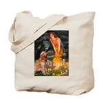 Fairies & Golden Tote Bag