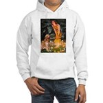 Fairies & Golden Hooded Sweatshirt