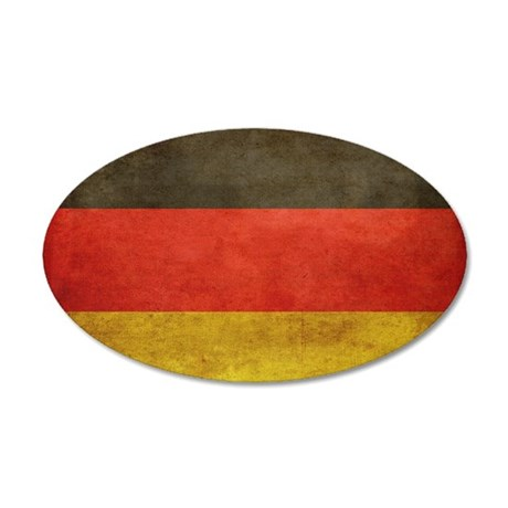 Grunge Germany Flag Wall Decal