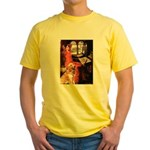 The Lady's Golden Yellow T-Shirt