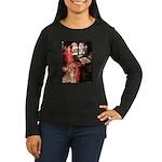 The Lady's Golden Women's Long Sleeve Dark T-Shirt