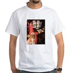 The Lady's Golden White T-Shirt