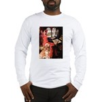 The Lady's Golden Long Sleeve T-Shirt