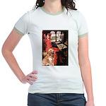 The Lady's Golden Jr. Ringer T-Shirt