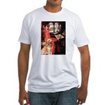 The Lady's Golden Fitted T-Shirt
