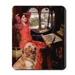 The Lady's Golden Mousepad
