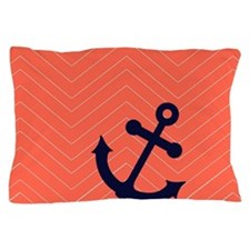 Cute Navy blue Pillow Case