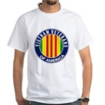 Vietnam Veterans of America Logo White T-Shirt