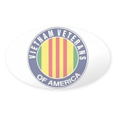 Vietnam Veterans of America Oval Decal
