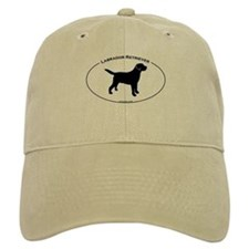 Labrador Oval Text Baseball Cap