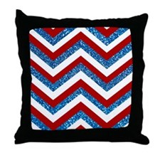 Cute White and red Throw Pillow