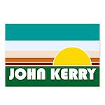 John Kerry Retro Sunrise Postcards (Package of 8)