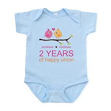 Two Years Of Happy Union Infant Bodysuit