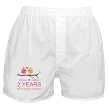 Two Years Of Happy Union Boxer Shorts