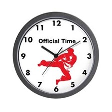 Karate Martial Arts Wall Clock