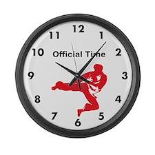 Karate Large Wall Clock
