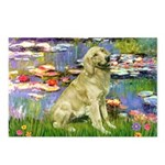 Lilies & Golden Postcards (Package of 8)