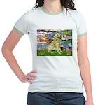 Lilies & Golden Jr. Ringer T-Shirt