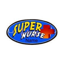 Nurse Super Hero Patches