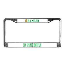 Riverside County Ranger License Plate Frame