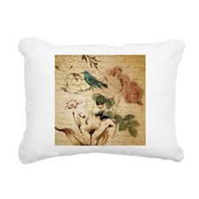 Cute Vintage retro art Rectangular Canvas Pillow