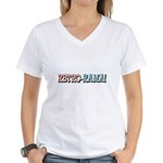Retro-Rama Design Women's V-Neck T-Shirt