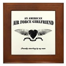 An American Air Force GF Framed Tile