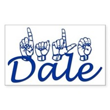 Dale Rectangle Decal